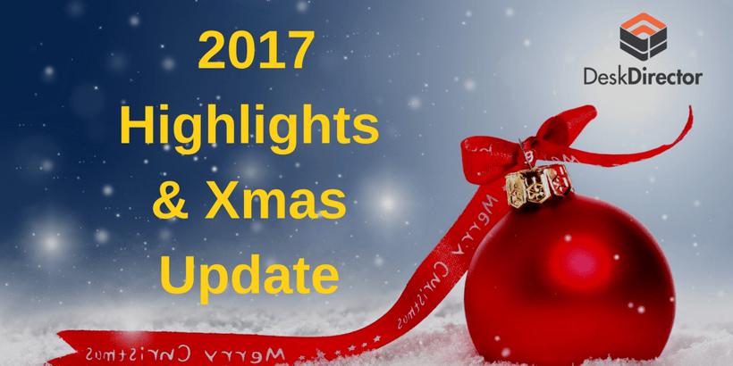 DeskDirector 2017 Highlights