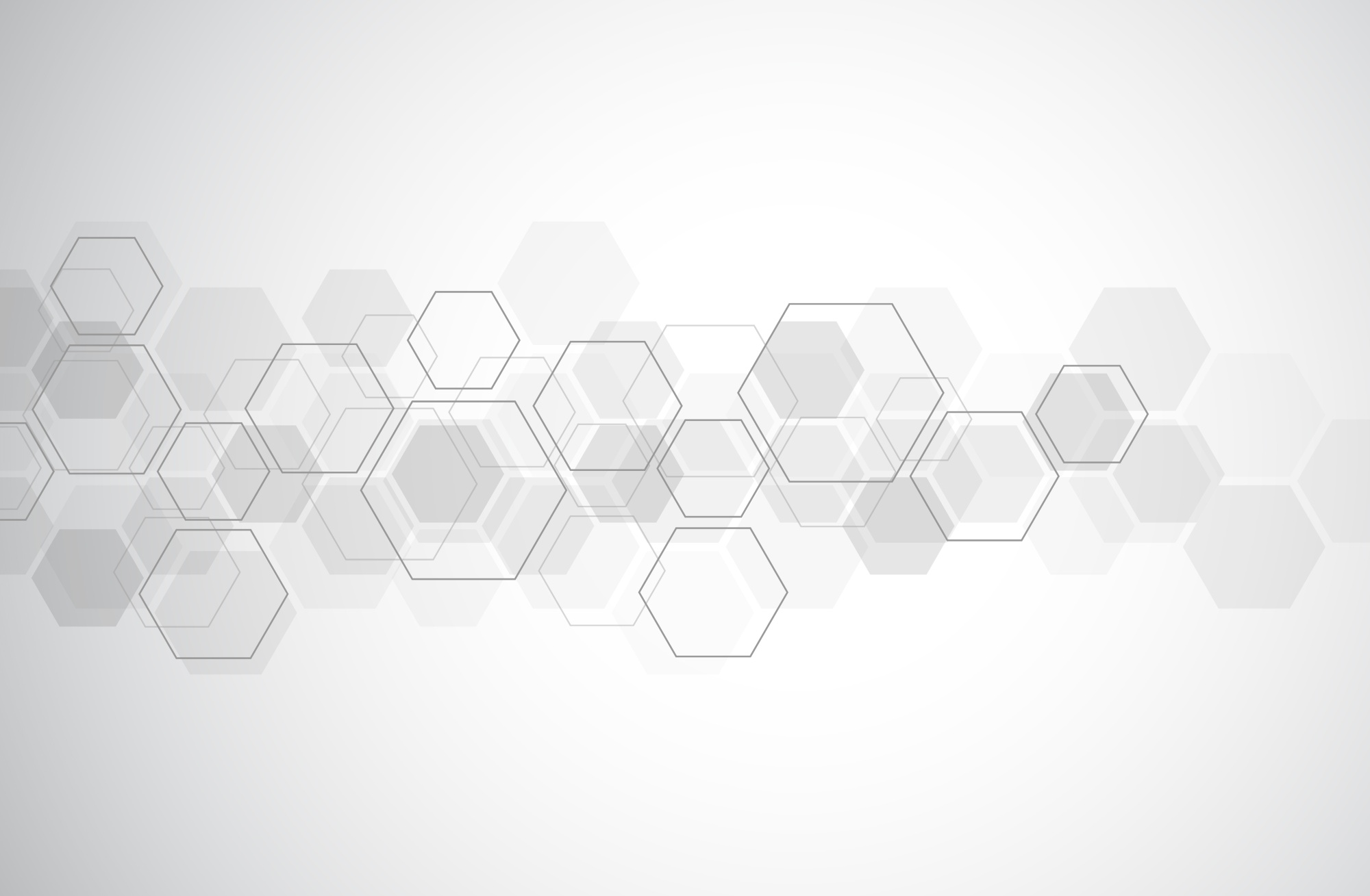 Landing Page Hexagon