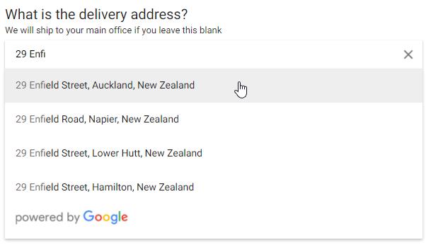 Google auto-complete support