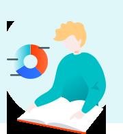 Self-service content center icon