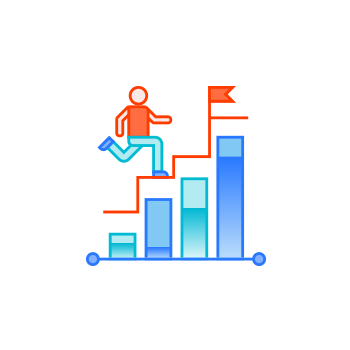 Customer experience icon with DeskDirector
