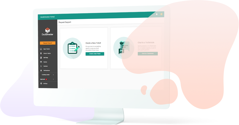 DeskDirector, better customer service with a smart support portal