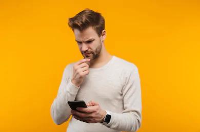 man-looking-at-phone-screen