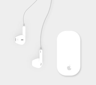 Mouse & Earbuds to be resposive to your client