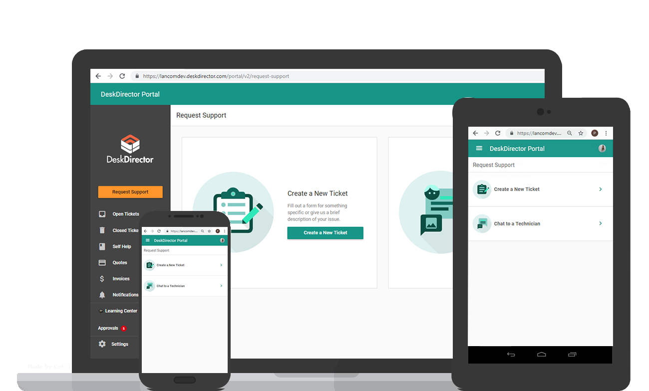 MSP-client-portal