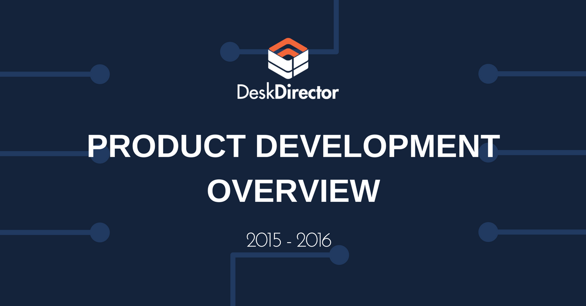 DeskDirector Product Development Overview
