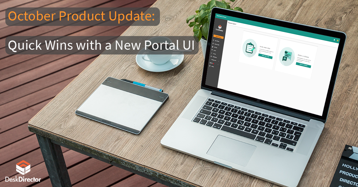 October Product Update: Quick Wins with a New Portal UI